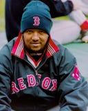 Pedro Martinez, Boston Rode Sox Royalty-vrije Stock Afbeelding