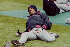 Pedro Martinez, Boston Rode Sox Royalty-vrije Stock Afbeeldingen