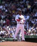 Pedro Martinez, les Red Sox de Boston Photos stock