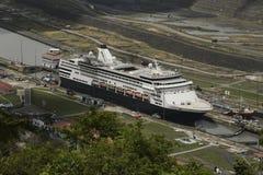 Pedro Miguel Locks in canale di Panama, Panama Immagini Stock Libere da Diritti
