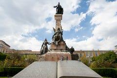 Pedro Murillo Statue - La Paz - Bolivia royaltyfri foto