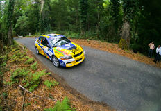 Pedro Peres in Rallye Centro de Portugal Royalty Free Stock Photos