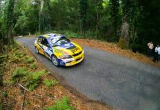 Pedro Peres in Rallye Centro de Portugal Royalty Free Stock Photos
