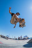 Pedro Roseiro during the DC Skate Challenge Royalty Free Stock Photography