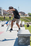 Pedro Roseiro during the DC Skate Challenge Stock Photo