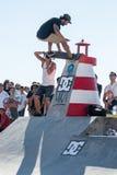 Pedro Roseiro during the DC Skate Challenge Stock Photos