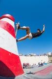 Pedro Roseiro under DC-skridskoutmaningen Royaltyfri Foto