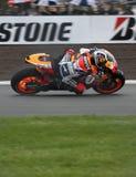 pedrosa 2009 motogp donington dani Стоковая Фотография RF