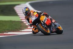 Pedrosa de Dani, gp 2012 del moto Fotografía de archivo