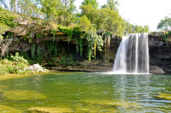 Pedrosa de Tobalina waterfall, Spain Royalty Free Stock Images