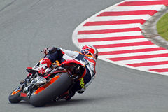 Pedrosa in turn Stock Photo