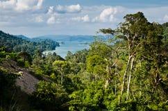 Pedu Lake. View of Lake Pedu in Kedah, Malaysia Royalty Free Stock Photo