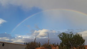 Pedy Νότια Αυστραλία ουράνιων τόξων Coober Στοκ Φωτογραφίες