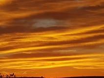 Pedy Sun Satz Coober und Opale Süd-Bergbaustadt Australiens lizenzfreies stockbild