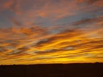 Pedy Sun Satz Coober und Opale Süd-Bergbaustadt Australiens stockfotografie