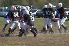 Pee Wee Football Royalty Free Stock Photography