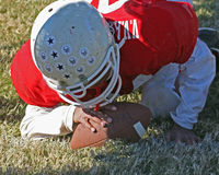 Pee Wee Football Royalty Free Stock Image