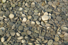 Peeble stones with water Stock Photo