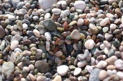 Peebles на пляже Стоковая Фотография