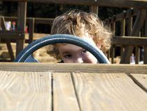 Peek-A-Boo Stock Images