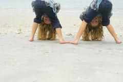 Peek a boo beach Stock Photography