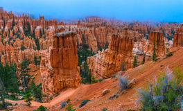 Peek-a-boo loop trail Bryce Canyon Royalty Free Stock Photo