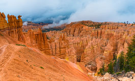 Peek-a-boo loop trail Bryce Canyon Stock Image