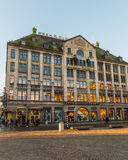 Peek & Cloppenburg and Madame Tussaud Building in Amsterdam Stock Images