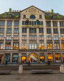 Peek & Cloppenburg and Madame Tussaud Building in Amsterdam Royalty Free Stock Images