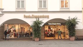 Peek&Cloppenburg stock video