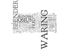 A Peek At The History Of Blenders Word Cloud. A PEEK AT THE HISTORY OF BLENDERS TEXT WORD CLOUD CONCEPT Stock Images