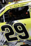 Peek inside NASCARs Kevin Harvicks 29 Car Stock Photo