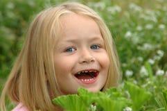 peekaboo dziecka Zdjęcia Stock