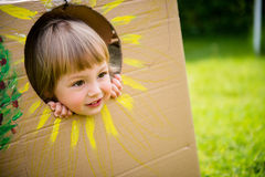 Peekaboo Royalty Free Stock Images
