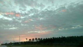 Peeking восход солнца Стоковое фото RF