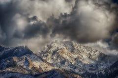 Peeking Through the Clouds HDR Stock Image