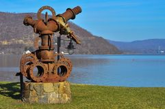 Peekskill. New York Hudson River Royalty Free Stock Photography