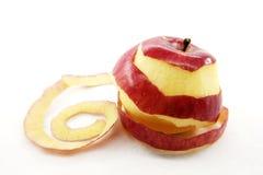 Peel the apple Stock Image