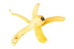 Peel of banana Royalty Free Stock Images