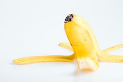 Peel of banana Royalty Free Stock Image