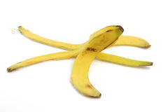 Peel of banana Royalty Free Stock Photo