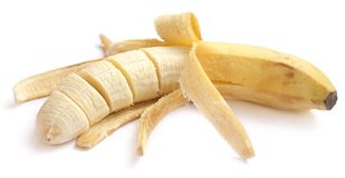 Peel of a banana Royalty Free Stock Photo