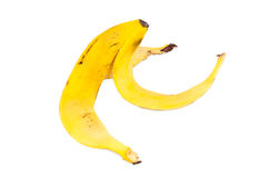 Peel of banana Stock Photography