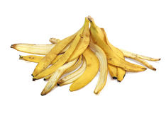 Peel from bananas Royalty Free Stock Photography
