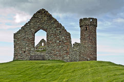 Peel Castle. Central tower, Isle of Man Stock Photos