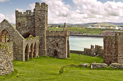 Peel Castle Stock Image