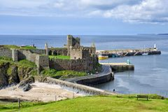 Peel Castle Royalty Free Stock Photography