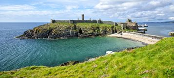 Peel Castle Royalty Free Stock Photos