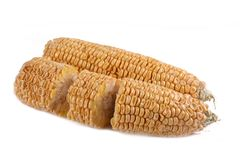 Peel corn 5 Royalty Free Stock Images
