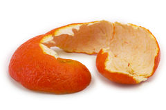 Peel of mandarin Stock Image